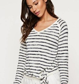 love stitch long sleeve stripe