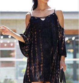 wonderland off shoulder dress