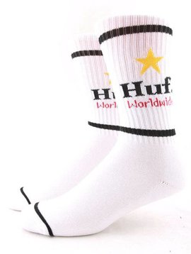 HUF CAN CREW SOCK WHT