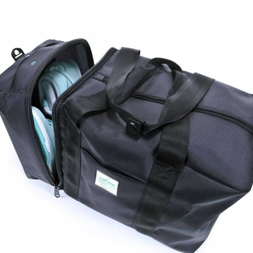 THE SHRINE SHRINE OVERNIGHT DUFFEL  BLK/TEAL 80011