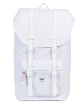 HERSCHEL SUPPLY CO LITTLE AMERICA WHITE/GUM
