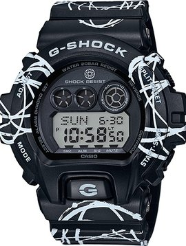 G-SHOCK X FUTURA BLACK & WHITE
