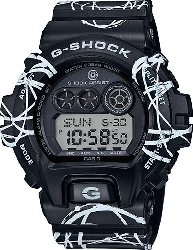 G-SHOCK X FUTURA BLACK & WHITE