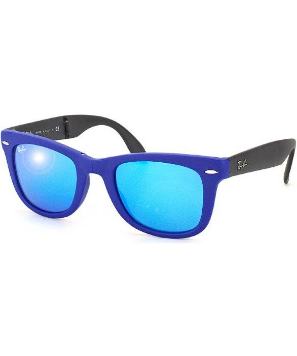 RAY-BAN RB4105 - 602017 - MATTE BLUE - 54