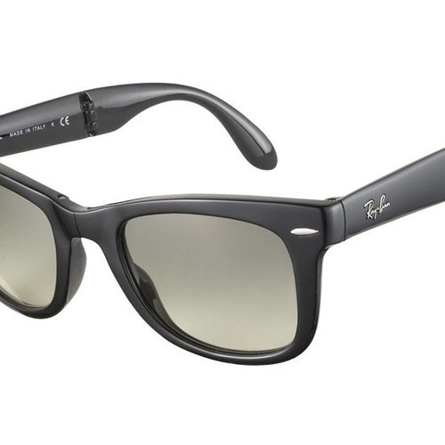 RAY-BAN RB4105- 601S - MATTE BLACK - 54