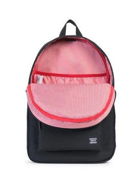 HERSCHEL SUPPLY CO STLMNT POLY PERF FOR/BLK