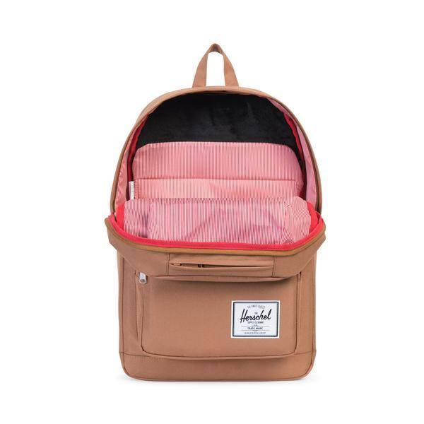 HERSCHEL SUPPLY CO POP QUIZ 600D POLY CARAMEL