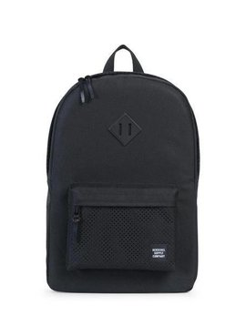 HERSCHEL SUPPLY CO HERITAGE POLY PERF BLK