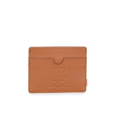 HERSCHEL SUPPLY CO CHARLIE LEATHER TAN