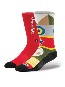 STANCE CHOCOLATE FLAGS L/XL