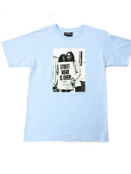 THE HUNDREDS OVER LIGHT BLUE T-SHIRT