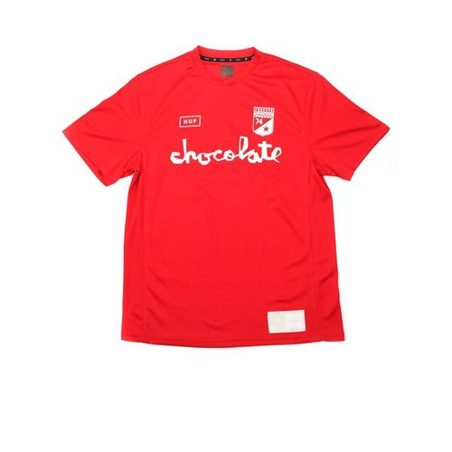 HUF TORRANCE FC SOCCER JERSEY-RED