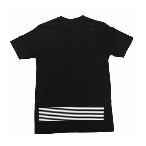ROC NATION EARNED STRIPES BLK TEE