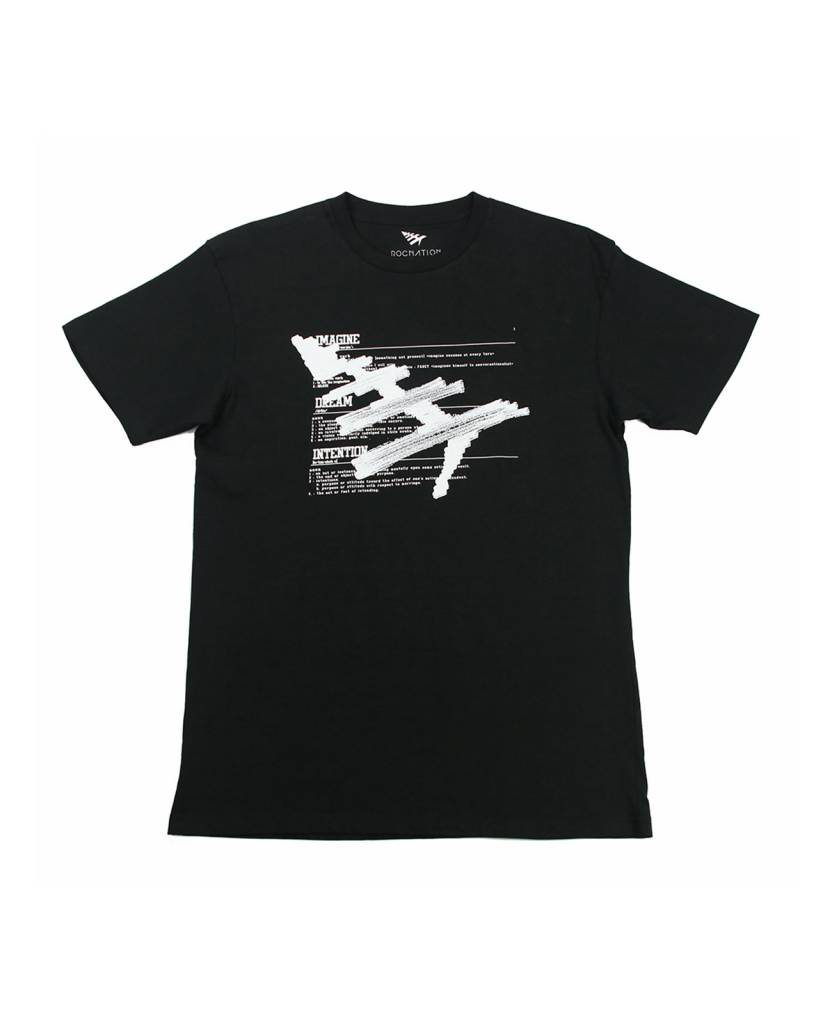 ROC NATION GREEN MILE BLK TEE