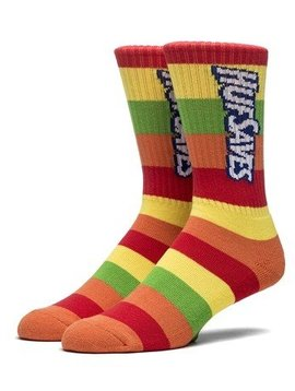 HUF HUF SAVES CREW SOCK MULTI