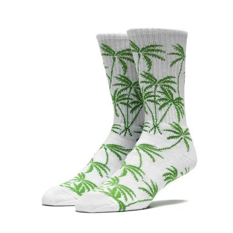 HUF CHINA BEACH CREW SOCK WHITE