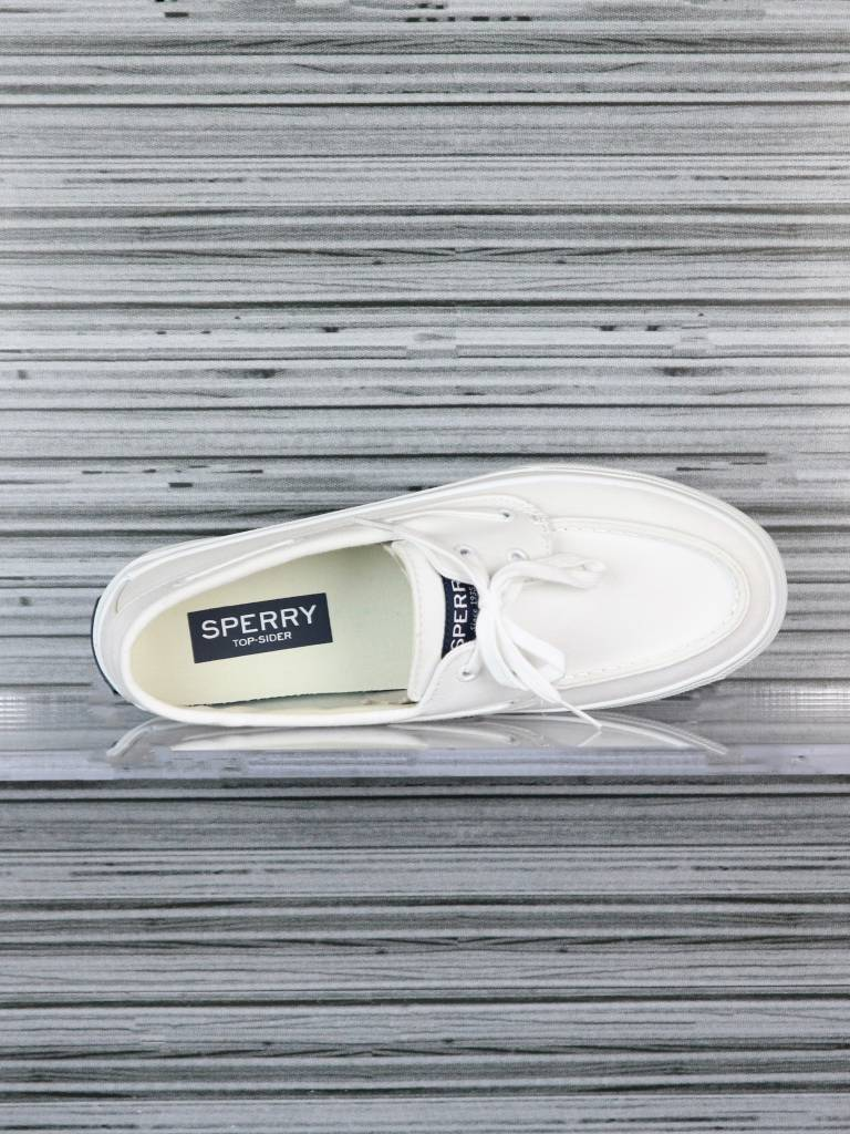 SPERRY BAHAMA 2-EYE WHITE/WHITE STS13456