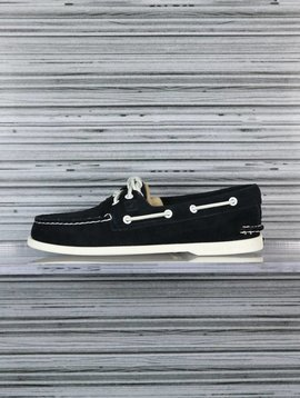 SPERRY A/O 2-EYE SUEDE BLACK STS10614