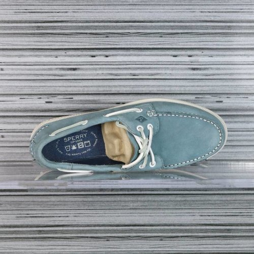 SPERRY A/O 2-EYE WASHABLE BLUE STS12257