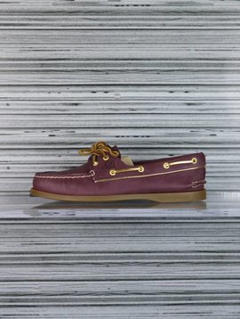 SPERRY A/O WINE/GOLD PIPING STS90180