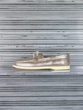 SPERRY A/O 2-EYE PYTHON SILVER STS93529