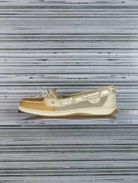 SPERRY ANGELFISH PYTHON LIN/GOLD STS93484