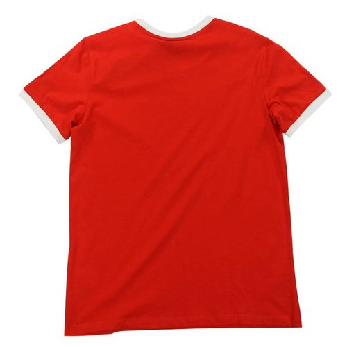 ADIDAS 3STRIPES TEE RED
