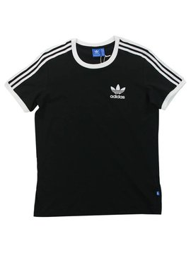 ADIDAS 3STRIPES TEE BLK