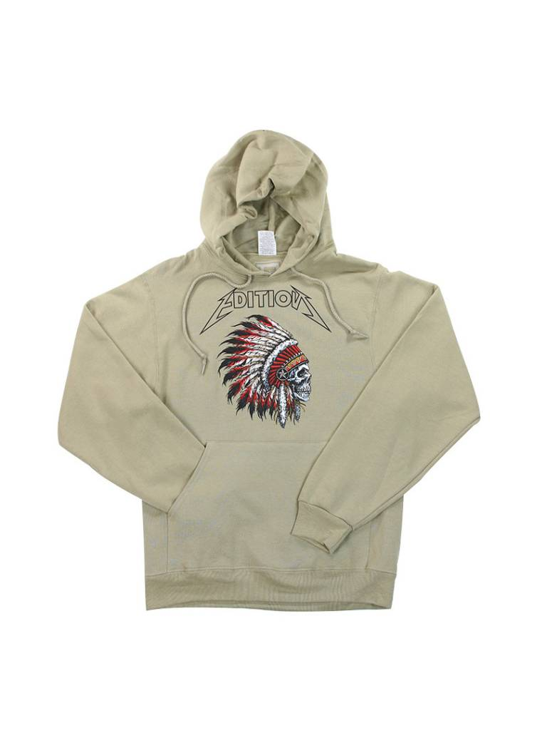 THE EDITION EDITION CHIEF HOODIE KHAKI