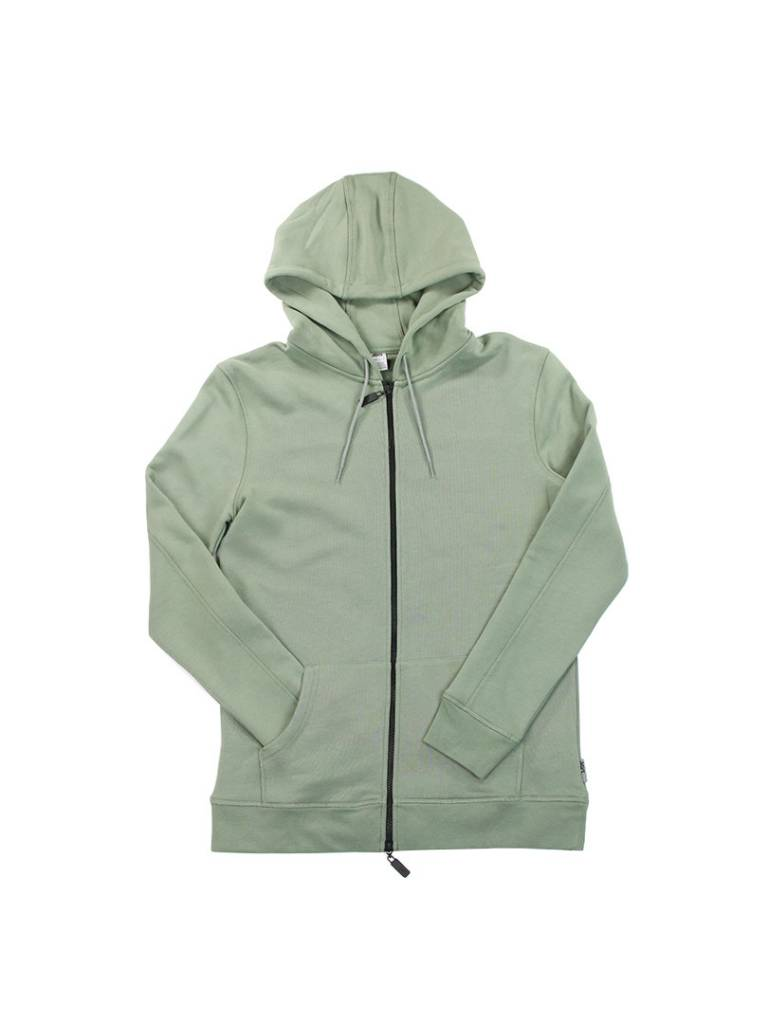 ASICS CLASSIC ZIP UP HOODIE OLIVE