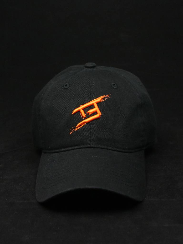 THE EDITION TE BRUSH DAD HAT BLK