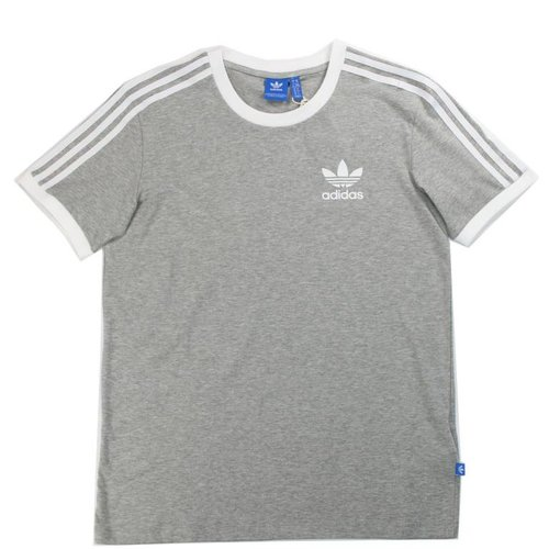 ADIDAS 3STRIPES TEE GRY