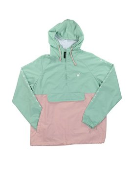 THE HUNDREDS DELL JACKET SP17 PALE TURQ