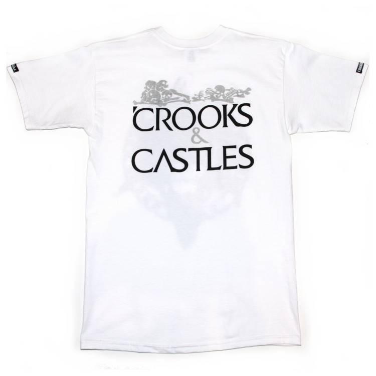 CROOKS & CASTLES HEIST MEDUSA WHT