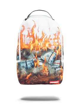 SPRAYGROUND WHITE FIRE MONEY