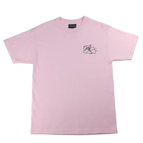 THE HUNDREDS BUNS PINK T-SHIRT