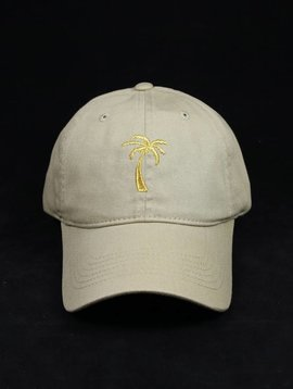 THE EDITION EDITION PALM TREE CAP KHAKI