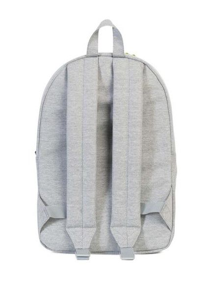 HERSCHEL SUPPLY CO CLASSIC MID-VOLUME LIGHT GREY CROSSHATCH
