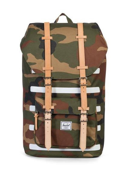 HERSCHEL SUPPLY CO LITTLE AMERICA WOODLAND CAMO STRIPE