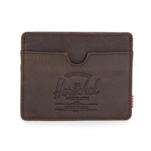 HERSCHEL SUPPLY CO CHARLIE LEATHER NUBUCK