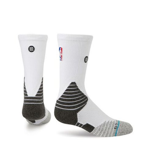 STANCE SOLID CREW WHT L