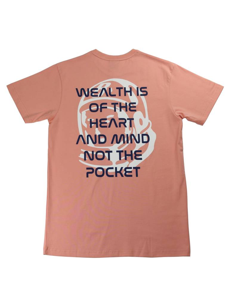 BILLIONAIRE BOYS CLUB BB WEALTH SS TEE CORAL