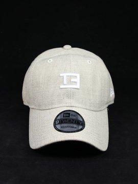 NEW ERA TE STAMP OATMEAL DAD HAT