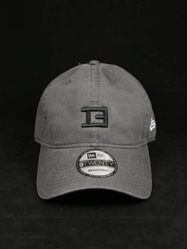 NEW ERA TE STAMP DAD HAT GRY/BLK