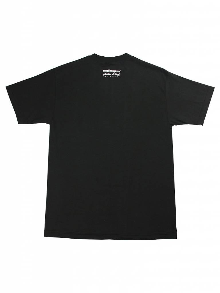 THE HUNDREDS JP SPLATTER T-SHIRT BLK
