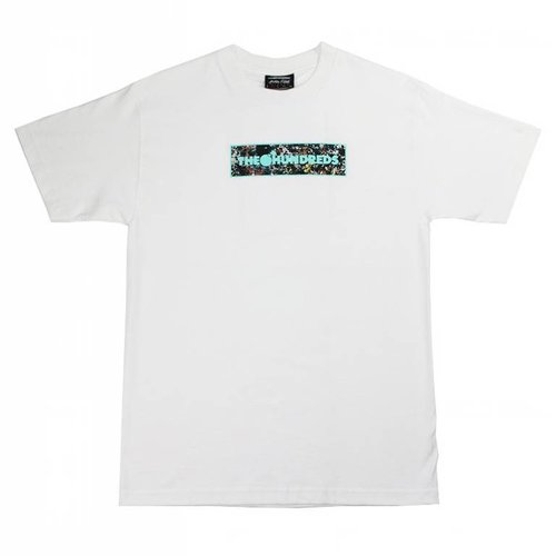 THE HUNDREDS JP BAR FILL T-SHIRT WHT