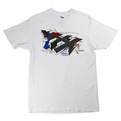 ROC NATION SKETCHED TEE WHT