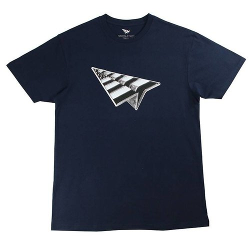 ROC NATION SALUTE S/S TEE NVY