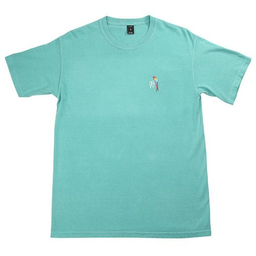 10 DEEP TROPICAL SHOCK TEAL TEE
