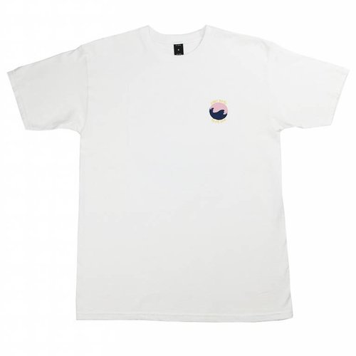 10 DEEP WAVES TEE WHT